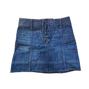 NWOT Abercrombie & Fitch denim skirt